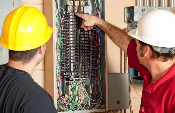Photo of Men working in Electrical Technology | ACWHCC