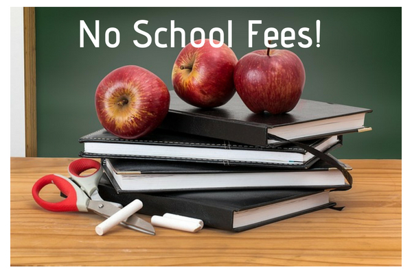 no school fees